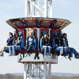 Chattanooga Amusement Park Thrill Ride