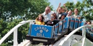 Chattanooga's Only Wooden Roller Coaster, The Cannonball