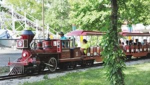Family Friendly Train Ride Attraction at Lake Winnie