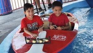 Kids Boat Ride at Lake Winnie