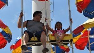 Parachute Ride for Kids at Lake Winnie