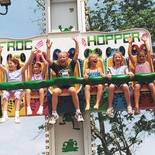 Kiddie Rides at our Amusement Park in Georgia