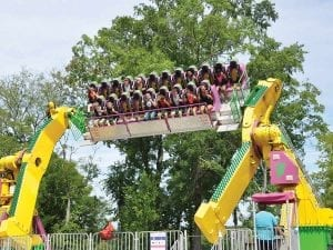 The Twister Thrill Ride at Lake Winnie