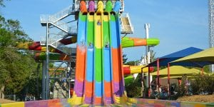 Lake Winnie Water Slide and Water Park in Chattanooga