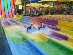 Waterslide in Chattanooga, Tennessee