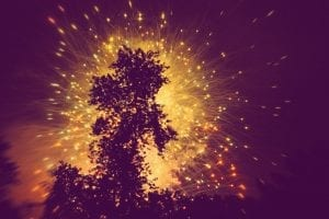 Lake Winnie Chattanooga Fireworks