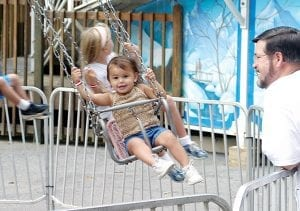 Kid Friendly Swing Ride in Chattanooga