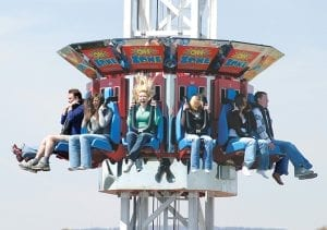 Oh-Zone Thrill Ride in Chattanooga