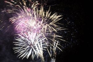Lake Winnie Fireworks Display