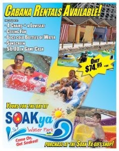 Chattanooga Water Park Rental Offer