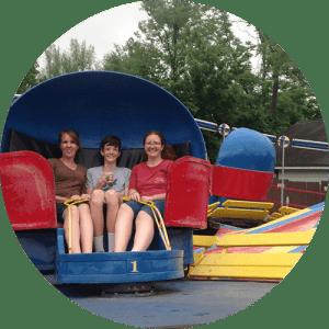 Tilt-A-Whirl Family Friendly Amusement Park Ride