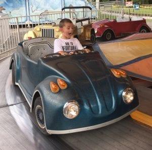 Family Friendly Amusement Park Ride
