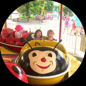 Kid Friendly Amusement Park Ride