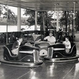 Bumper Cars at Lake Winnepesaukah