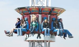 Oh-Zone Thrill Ride With Guests