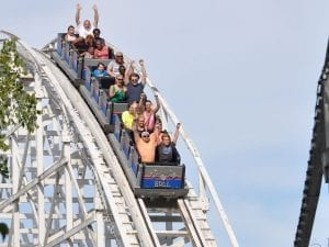 Cannonball Roller Coaster at Lake Winnie