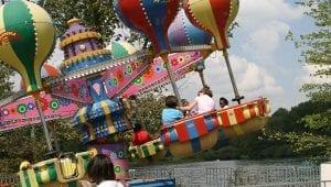 Balloon Ride at Lake Winnepesaukah