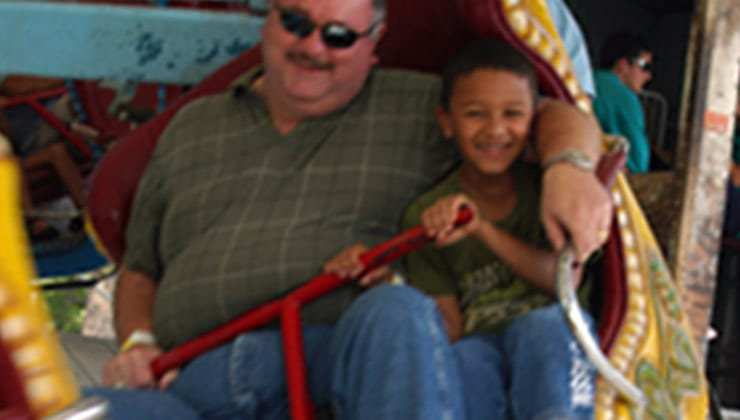 Family Matterhorn Ride at our Amusement Park in Tennessee