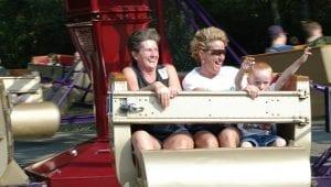 Scrambler Attraction at Lake Winnie Amusement Park