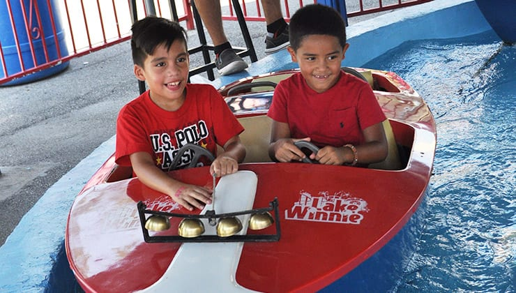 Kiddie Boat Rides, A Kids Activity near Chattanooga Tennessee