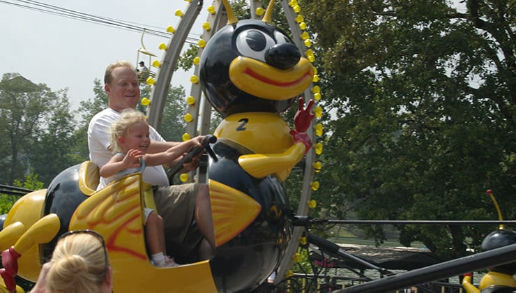 Bumble Bee Kid's Ride, A Fun Kids Activity Near Chattanooga
