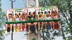 Frog Hopper Kids Ride at Lake Winnie