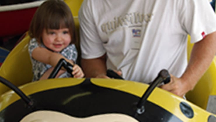 Lady Bug Ride for fun kids friendly activity Chattanooga Tennessee