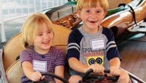Kids Having Fun on Ride at Lake Winnie