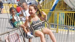 Kids Rides at Lake Winnie Amusement Park in Chattanooga