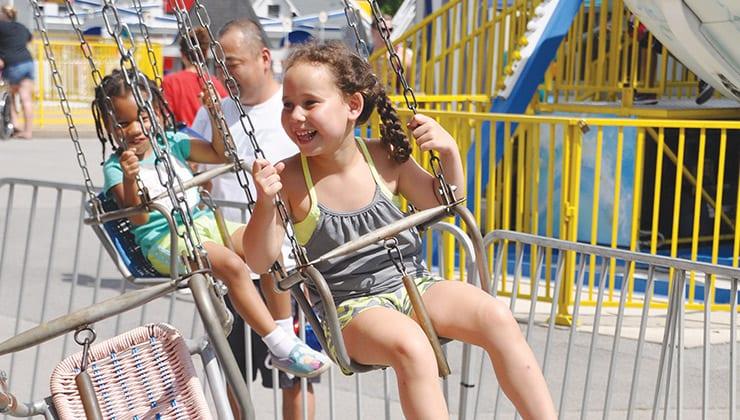 Kiddie Swings, A Fun Kid Friendly Activity in Chattanooga