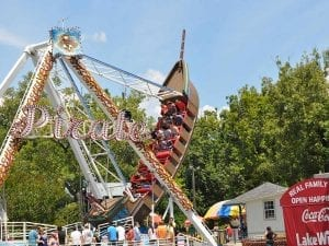 Pirate Ship Thrill Ride at Lake Winnie