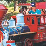 Children's Train Ride at Lake Winnepesaukah