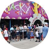 Wacky Factory Children's Attraction at Lake Winnie