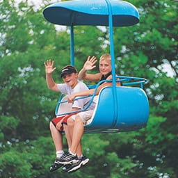 Skyway Ride at Lake Winnie