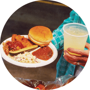 Food and Lemonade at Lake Winnie