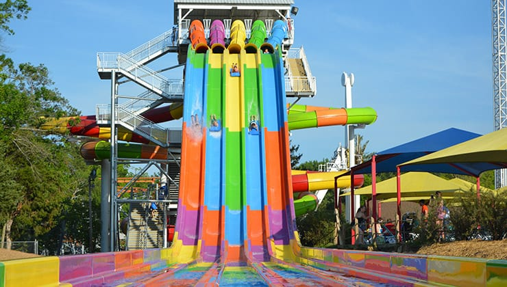 Winnie 500 Water Slide at our Water Park in Tennessee