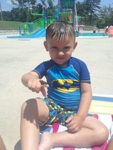Little Boy at Chattanooga's Kid Friendly Water Park